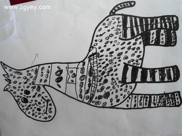 第十二周美术课程《动物狂欢.