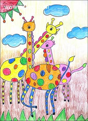 ————长颈鹿的脖子瘦瘦长长的,还有什么动物身上的部位瘦瘦长长的