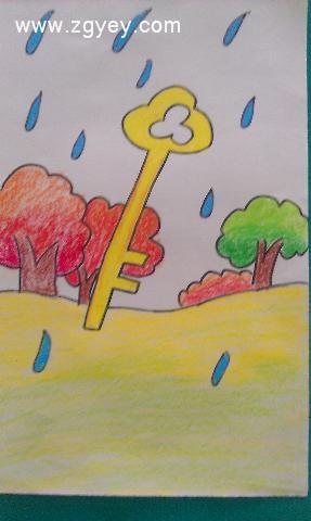 秋天的雨图片
