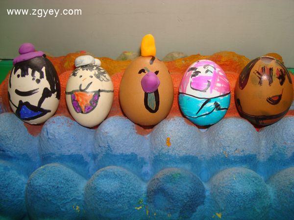 幼儿园简单手工制作蛋宝宝