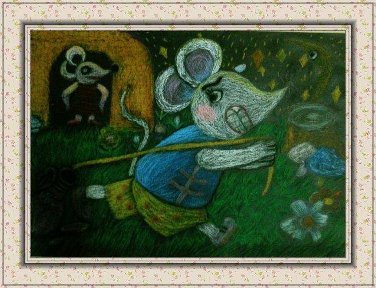 美术作品样式很多,有沙画、剪纸画、水粉画、素描画、漫画、蜡笔画