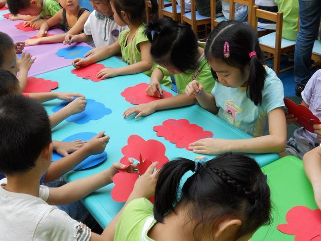 海山中英文幼儿园中秋节活动