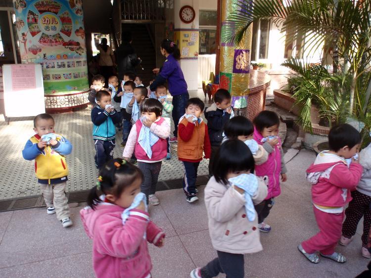 广钢幼儿园消防疏散演习活动-广钢幼儿园