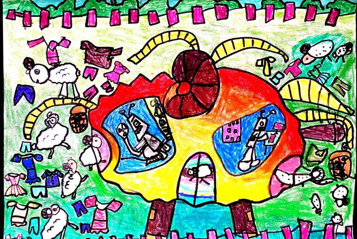 2010年幼儿科幻画评选一等奖作品集图片