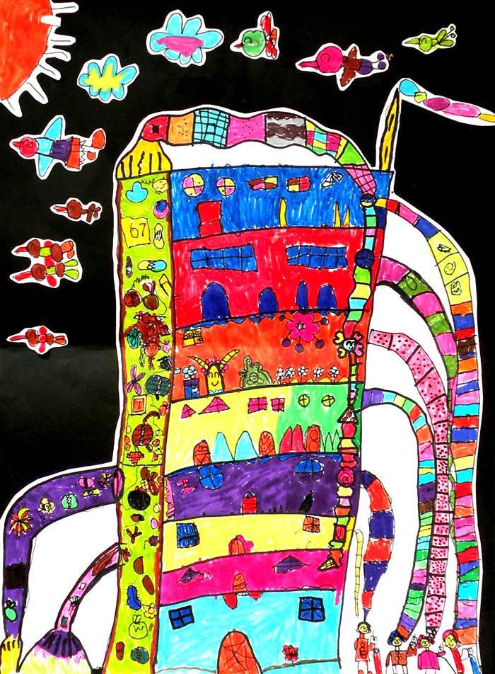 获奖科幻画一等奖-幼儿园门户网 免费幼儿园网站建设平台 国内最专业