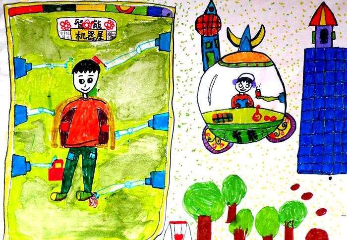2010年幼儿科幻画评选二等奖作品集