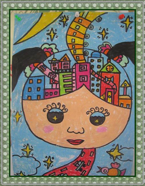 丹凤幼儿园大一班绘画作品