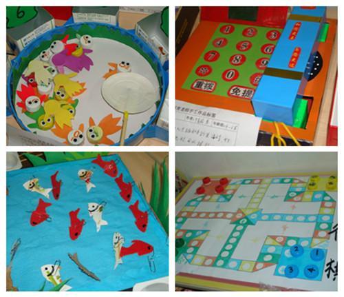 中心幼儿园举行保育教师手工制作大赛