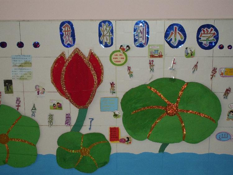 幼儿园课室文明礼仪墙面布置