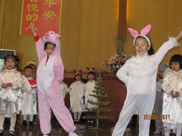 2011年圣诞节河南基督堂唱诗表演