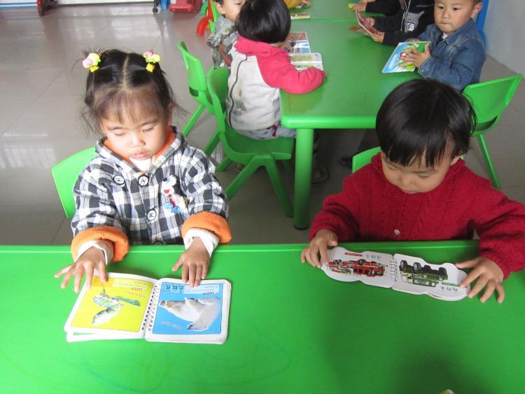 通过引导使幼儿掌握看书的正确方法:轻拿轻放