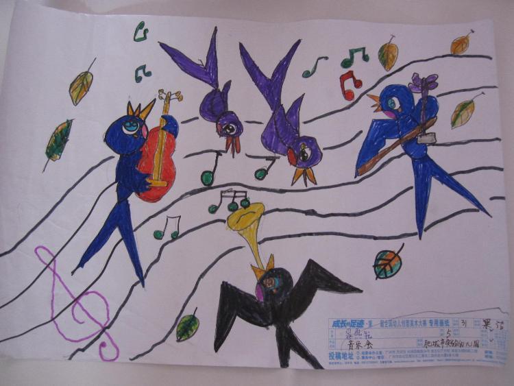 小班幼儿美术作品内容|小班幼儿美术作品图片