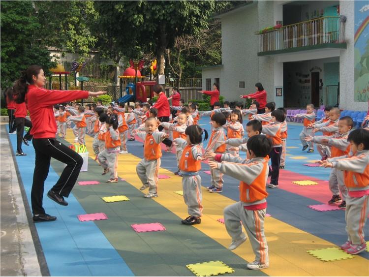 幼儿园早操比赛-华南理工大学幼儿园