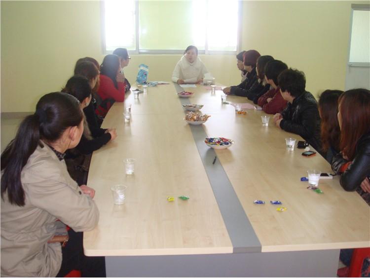 金蓓贝幼儿园膳食委员会议-定远县粮食局幼儿园