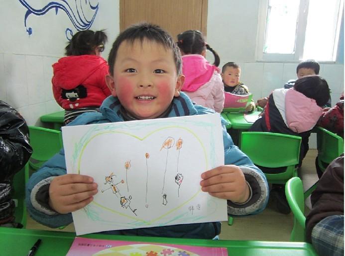 画出我心中的妈妈-定远县粮食局幼儿园