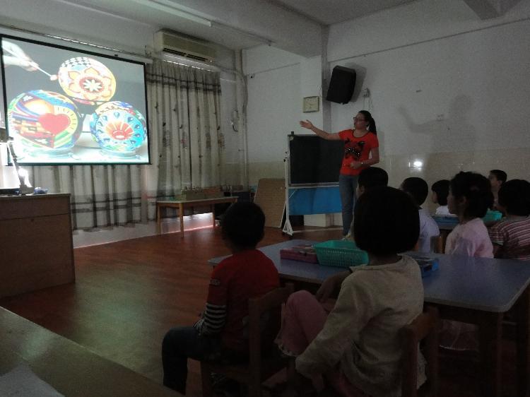 教研活动:石牌片美术教学大赛在暨大幼儿园成功举办