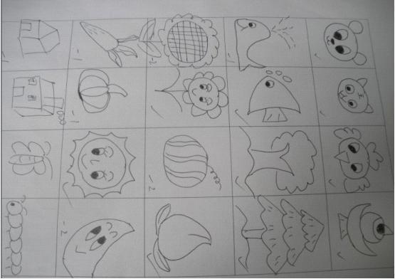 巫峡幼儿园:开展教师简笔画竞赛